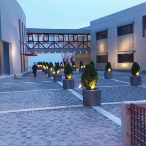 Φωτισμός εξωτερικού χώρου στο Δημαρχείο Πανοράματος Θεσσαλονίκης