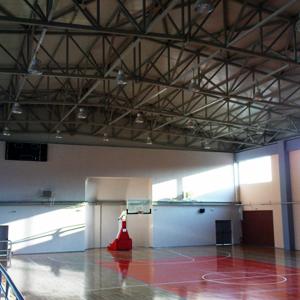 Κλειστό γήπεδο μπάσκετ στην Πολίχνη Θεσσαλονίκης